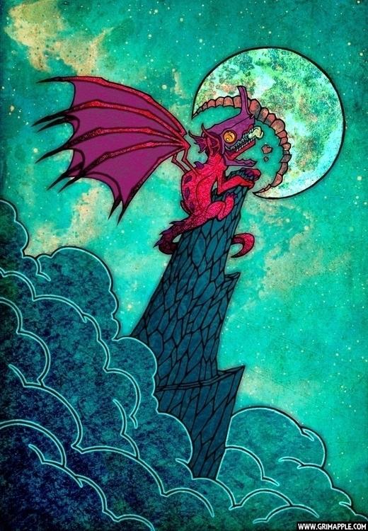 Feast: baby dragon bites full m - grimapple | ello