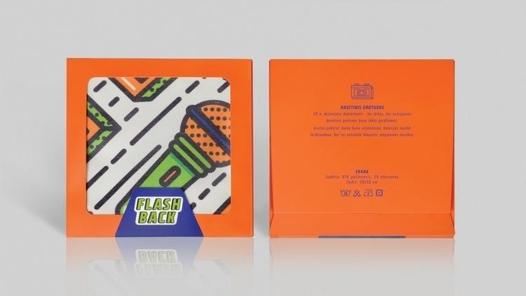 3rd scarf packaging design - orange - laurita_potapova   ello
