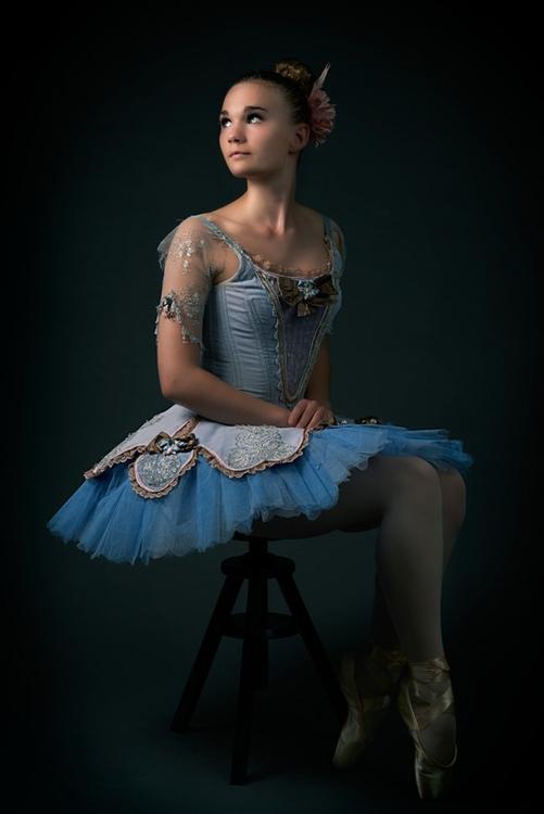 Caroline Ballerina - Ballerina,ballet,tutu,dance,blue - ferryknijn-3392 | ello