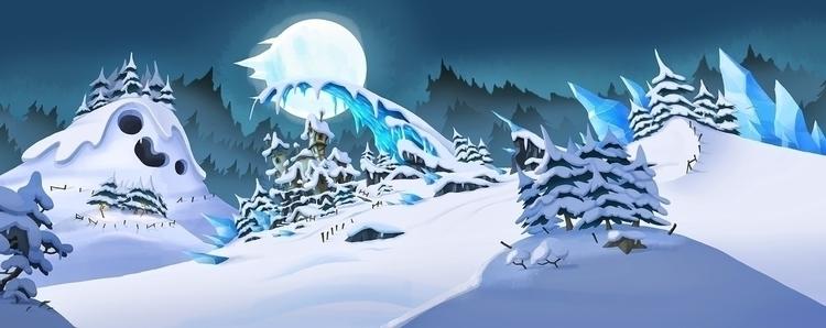 illustration, gameart, environment - mojo-2591 | ello