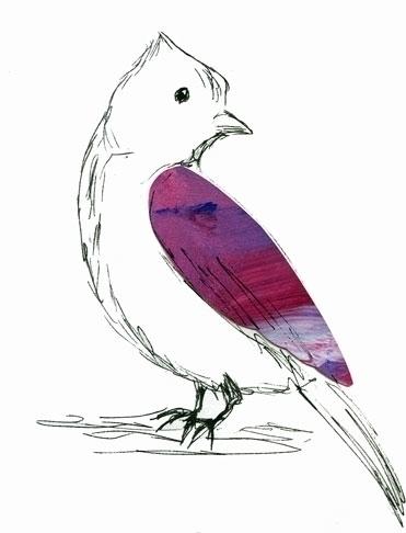 Bird - mixedmedia, bird, texture - laurabuckland | ello