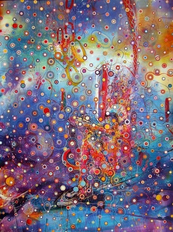 cosmoskate - drawing, painting, space - erik_shutov   ello