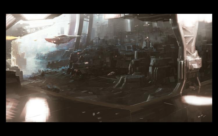 Esc-Ape Cities Machine Men Cove - theblackfrog | ello
