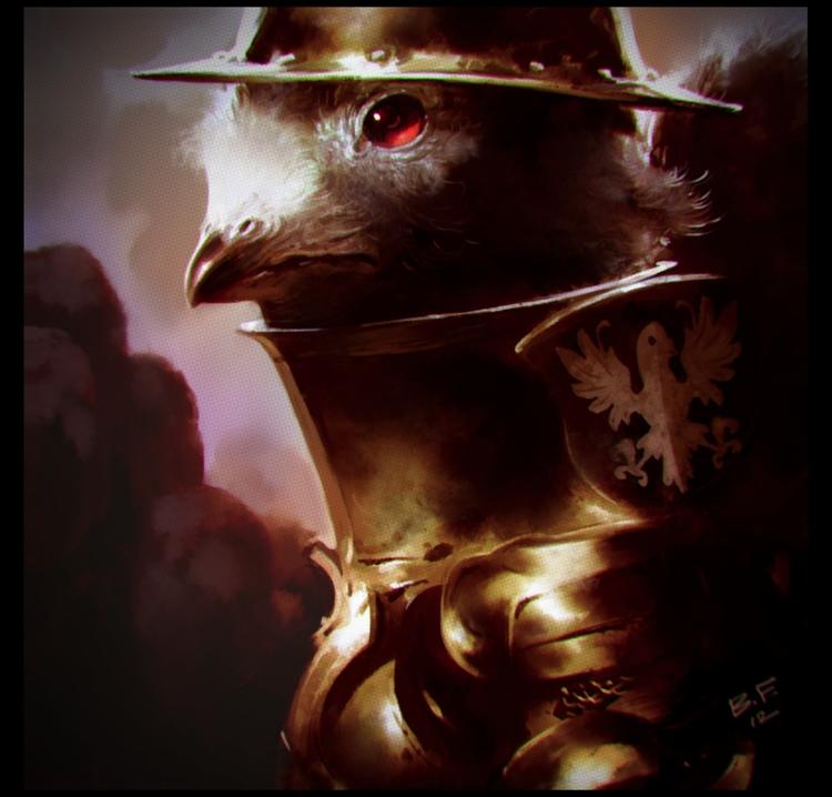 Lord Pigeon - Illustration - theblackfrog | ello