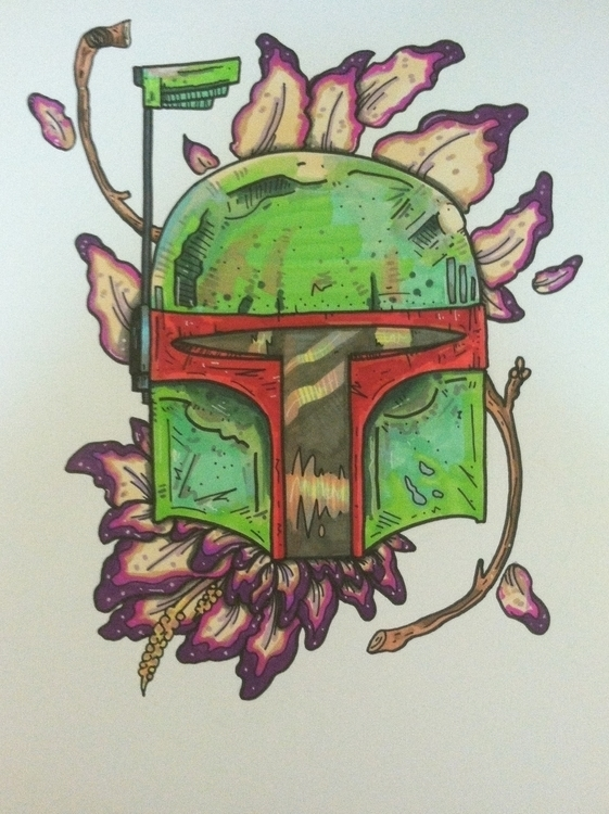 Bountiful - drawing, design, starwars - sleepyvolf | ello