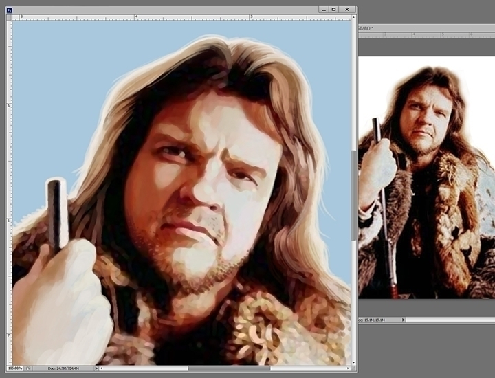 serving Meat Loaf poster RiffTr - jasonmartin-1263 | ello