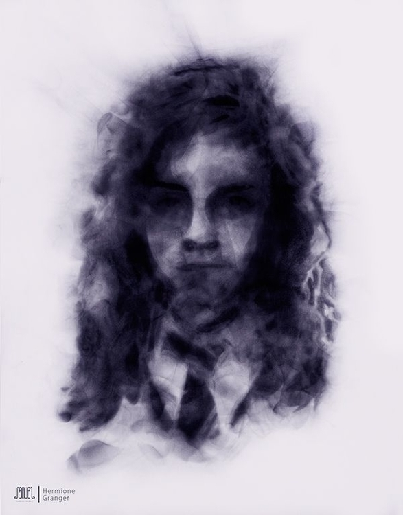BEHANCE - #Hermione, #magia, #portrait - samuelarmas3 | ello