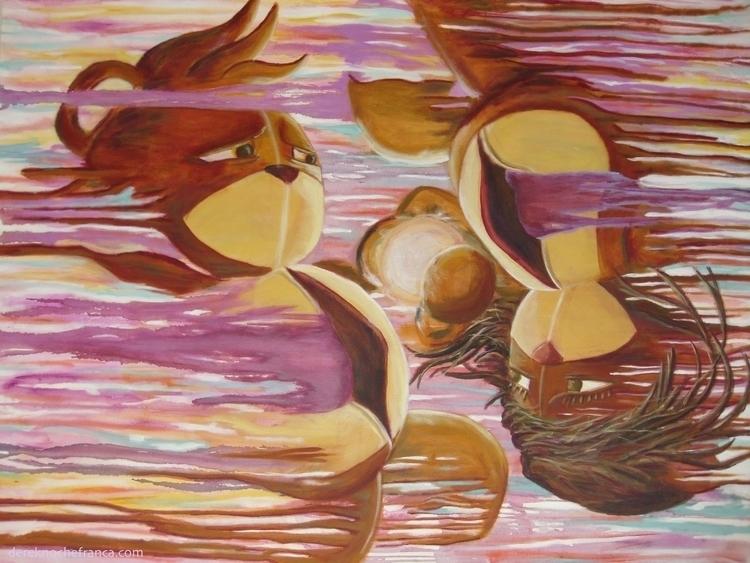 60 48 acrylic canvas 'Love Mach - dereknochefranca | ello