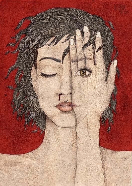 portrait, woman, womanportrait - kunarysuje | ello