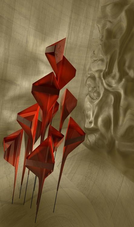 Arrows - digitalart, render, abstract - tremaineh | ello