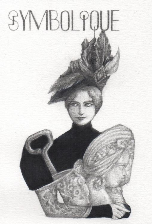 Symbolique - illustration, drawing - juichenhu | ello