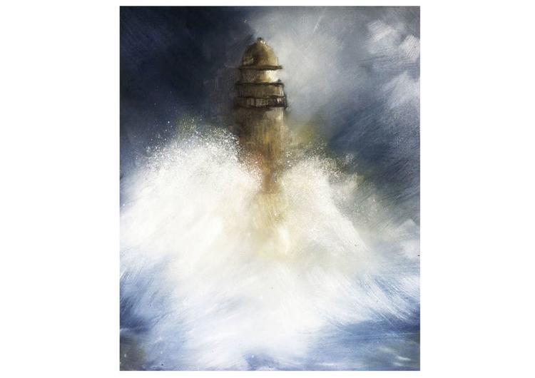 Painting 2 - painting, sea, oilpainting - juliettemary | ello