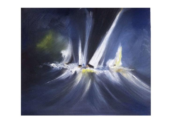 painting 4 - sea, art, oilpainting - juliettemary | ello