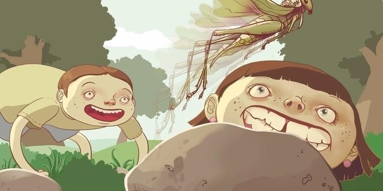 children'sillustration, children'sbook - laurawaechter | ello