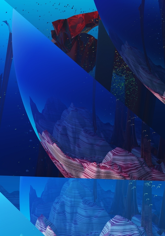 Aquatica - abstract, fineart, graphicdesign - tremaineh | ello