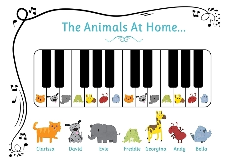 Animals Home page (Tiny Fingers - clairestamper | ello