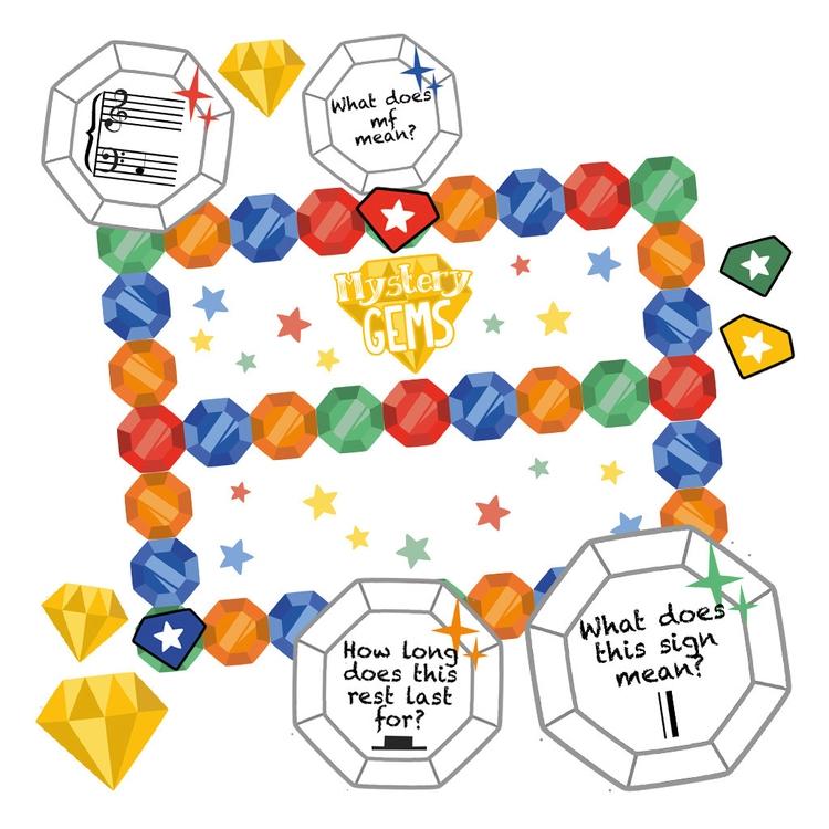 Mystery Gems Game - mysterygems - clairestamper   ello