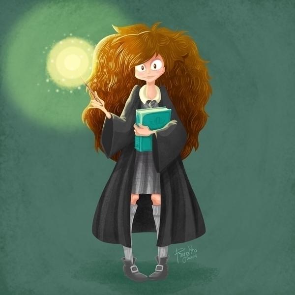 Hermione Fanart - hermionegranger - pingolito | ello