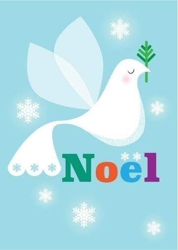 Noel | Dove - illustration, holiday - amycartwright | ello