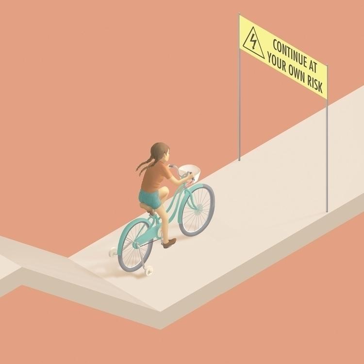 Camino - illustration, digitalillustration - laurawaechter | ello
