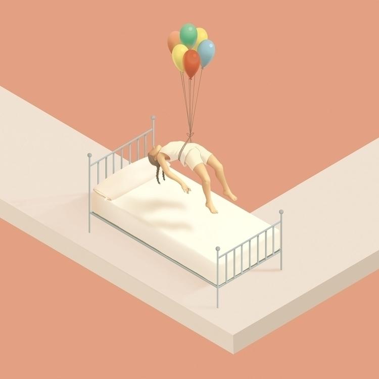 Camino IV - illustration, digitalillustration - laurawaechter | ello