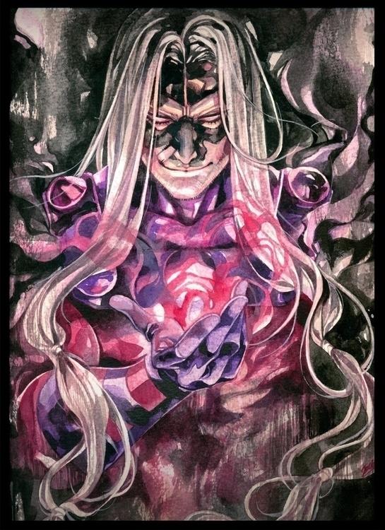 Magneto - illustration, xmen, magneto - handrewx | ello