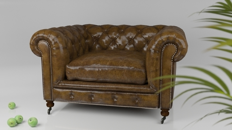 Sofa - 3d, design - eugenechekhov | ello