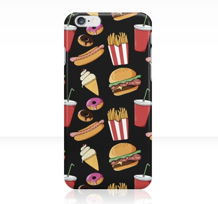 Fast Food iPhone Cases Skins - redbubble - adelemanuti | ello