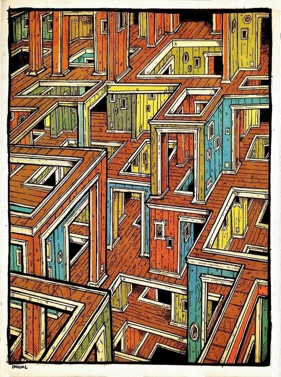 Chaos Living Rooms - sketchbook - danmccool | ello