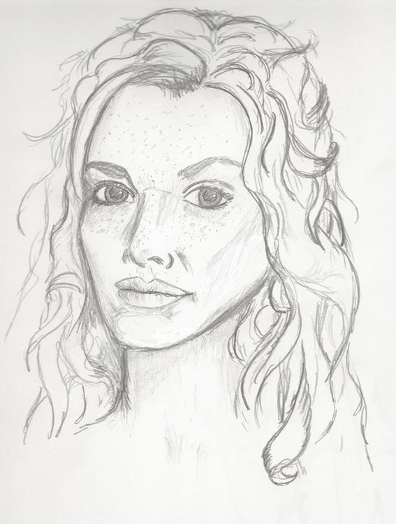 Aurhia Seelund, character sketc - crysodenkirk | ello