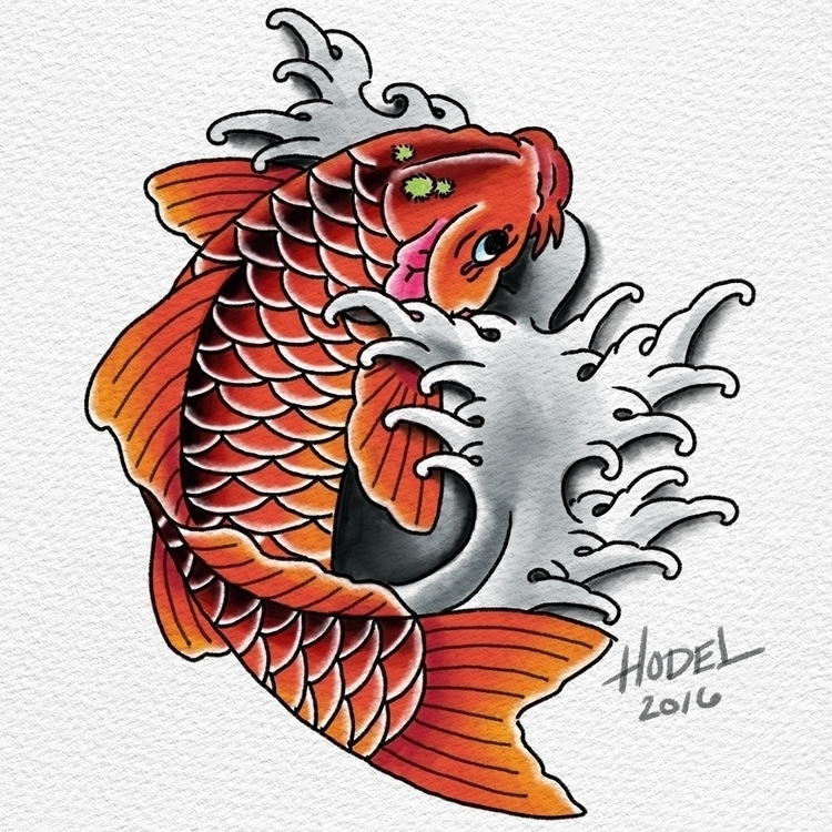 Coi - tattoo, tattoos, coi, digitalart - matthewhodel | ello
