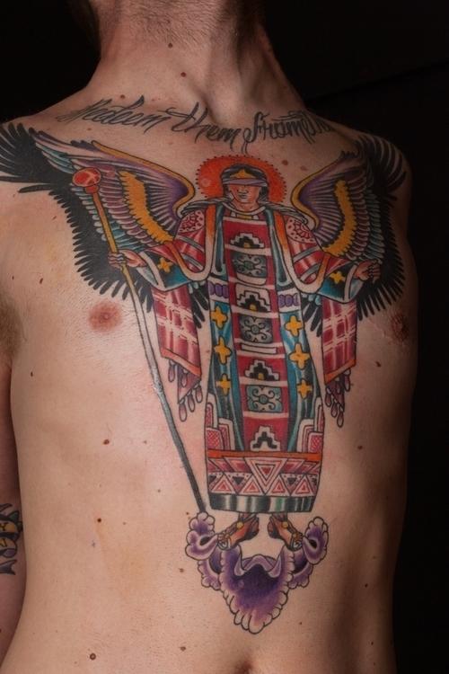 Angel - matthodel, tattoo, tattoos - matthewhodel | ello