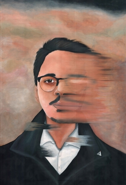 Devolve - painting, realism, surrealism - diegold | ello
