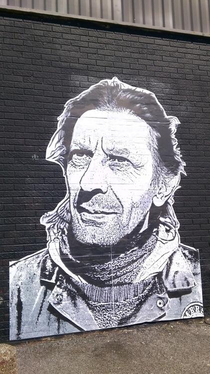 Heroes Paul - pasteup, portrait - hobotristan | ello