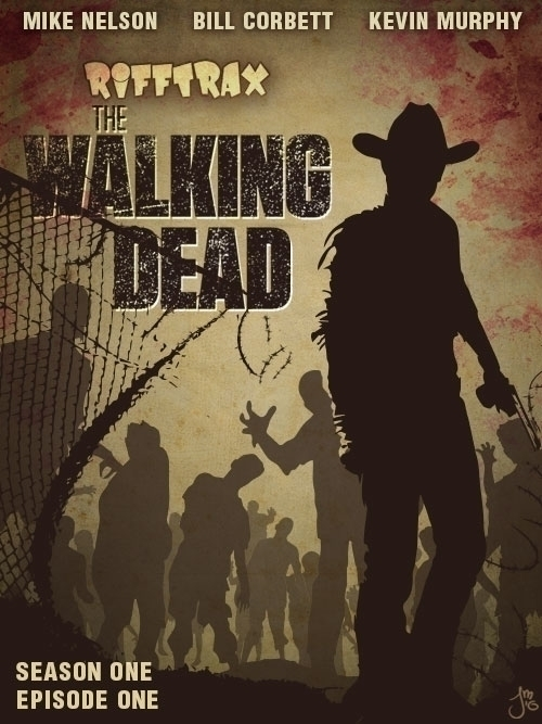 Walking Dead RiffTrax - illustration - jasonmartin-1263 | ello
