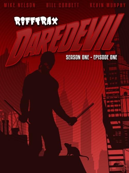 Daredevil RiffTrax - MST3K, vector - jasonmartin-1263 | ello