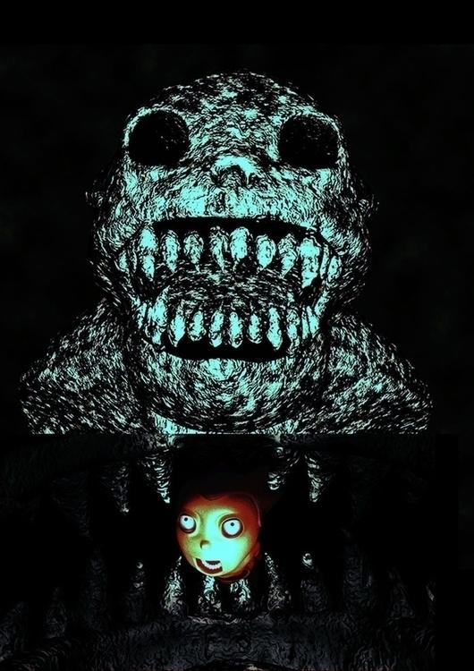 CrazyCrank - monster, illustration - sunshine-9126 | ello