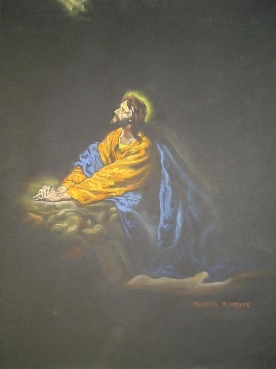 Getsemani - #pastels, #drawing - droberts-1393 | ello