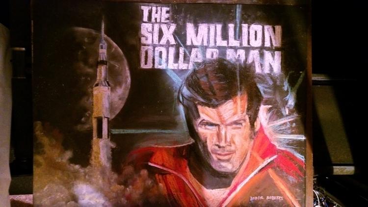 Million Dollar Man - #illustration - droberts-1393   ello