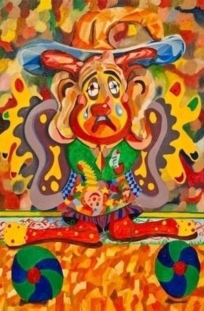 Balancing Clown - clown, comedy - lavott | ello