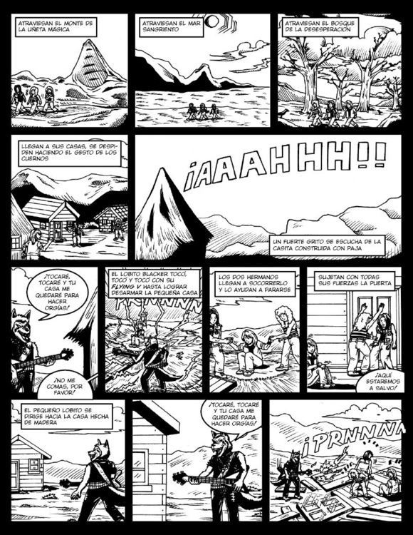 Comic adapation free metal vers - fdrawer | ello
