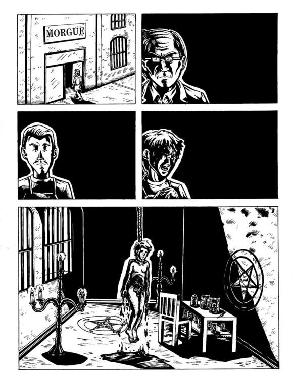 Comic chilean website, noir sty - fdrawer | ello