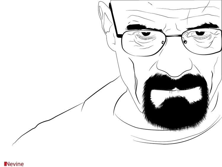 Breaking Bad - lineart - nvndesigns | ello