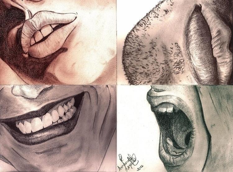 Amanda Loyolla - mouth, realistic - amandaloyolla | ello