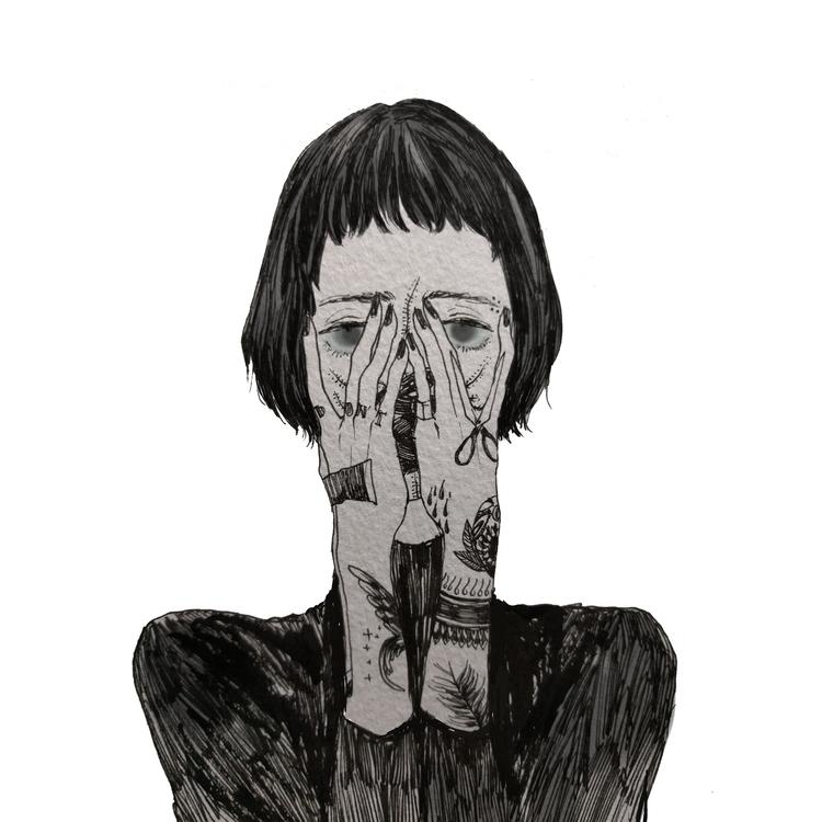 scared - pen, illustration, tattoo - mioim | ello