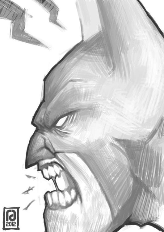 Batman - comics, characterdesign - remzorr | ello
