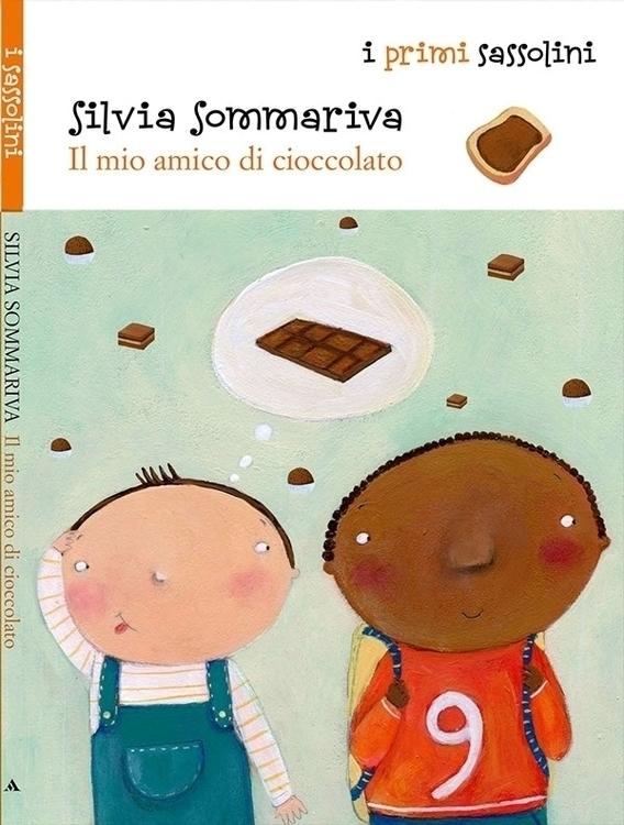 Il mio amico di cioccolato Silv - francescaassirelli | ello