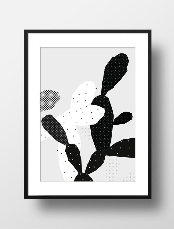 cactus graphics, illustration,  - lenamusmann | ello