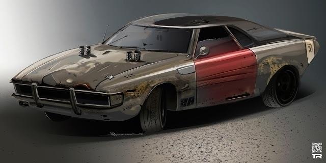 Warrior NX-69 - car, derby, digitalart - rash-3266 | ello