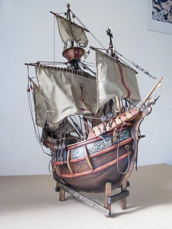 sculpture, ship, model - cyrill-9864 | ello